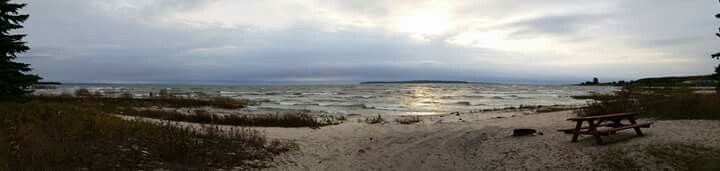 Lake Huron Saint Ignace, Michigan