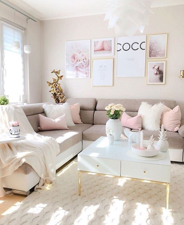 Interior Design Home Decor On Instagram So Pretty Living Room Like If You In 2020 Beautiful Living Rooms Decor Pretty Living Room Living Room Decor Apartment