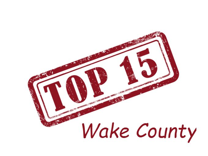Check out the Top 15 High Schools in Wake County, NC!  Schools in Cary, Apex, Raleigh, Wake Forest etc.
