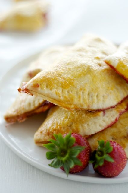 Strawberry Hand Pies: Hand pies filled with fresh strawberry filling, perfect for a picnic or a hike.