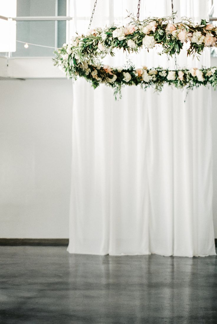 View entire slideshow: Awe-Inspiring Floral Chandeliers on http://www.stylemepretty.com/collection/1962/