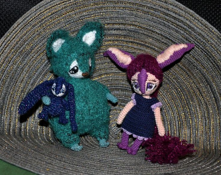 Green Fox Amigurumi (17) by Faurik.deviantart.com on @DeviantArt