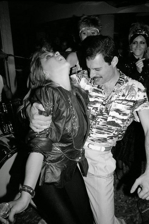 """That night of the Queen after party Freddie made a point of being seen with Mary Austin on his arm. His friend Jim Hutton was nowhere in sight."""""""