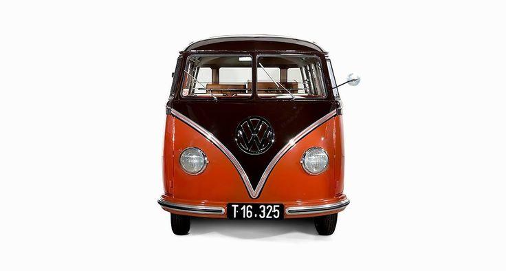 16 best VW 1955 23-Window Samba Deluxe (Barn Door) images ...