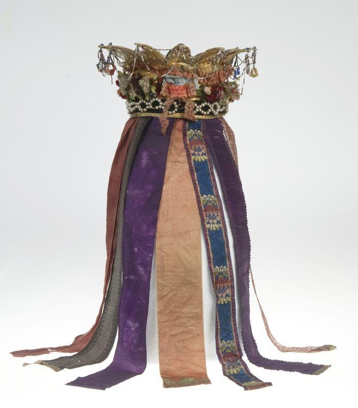 Bridal crown | Anne-Lise Reinsfelt | Norsk Folkemuseum | CC BY-SA