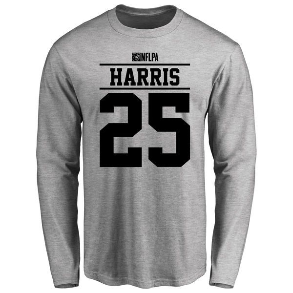Chris Harris Jr Player Issued Long Sleeve T-Shirt - Ash - $25.95