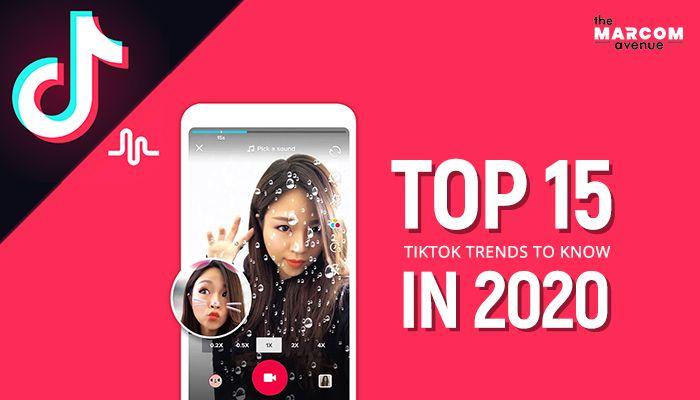 Top 15 Tiktok Trends To Know In 2020 Social Media Marketing Instagram Instagram Marketing Social Media Marketing