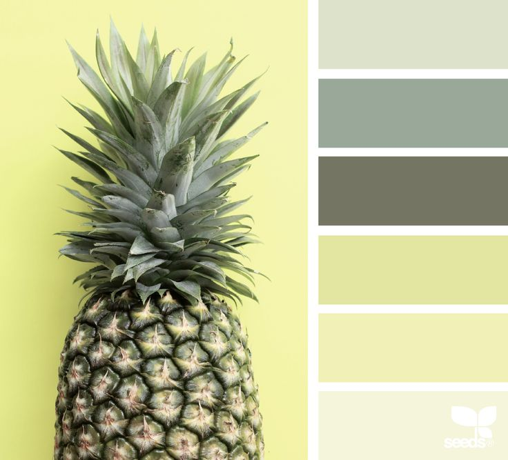 Pineapple Palette - http://www.design-seeds.com/summer/pineapple-palette-2