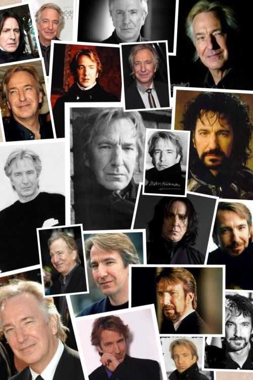 "akcchamp: ""The one and only Alan Rickman! ❤️ """