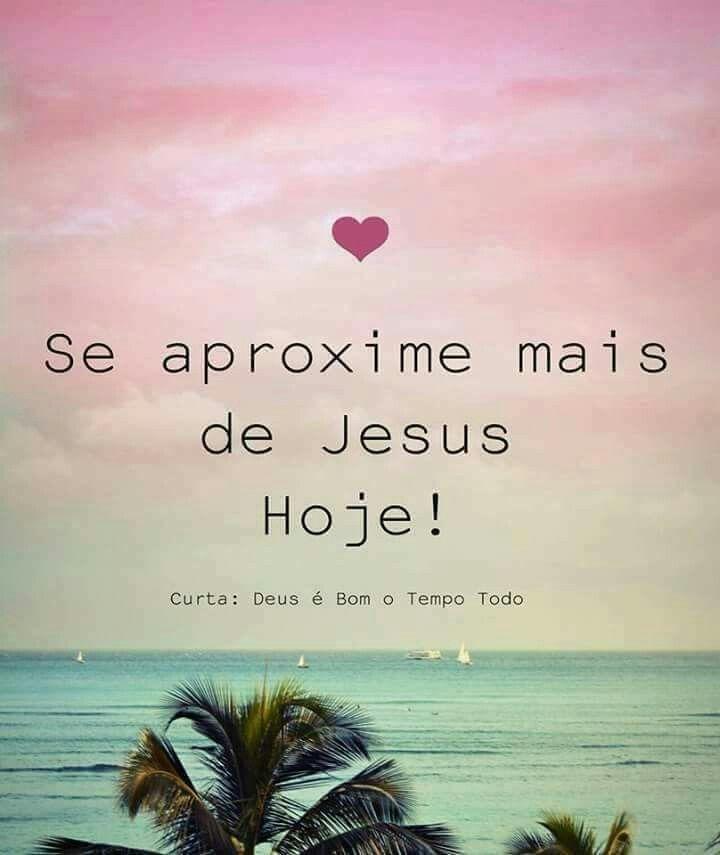 Mais perto de Jesus!