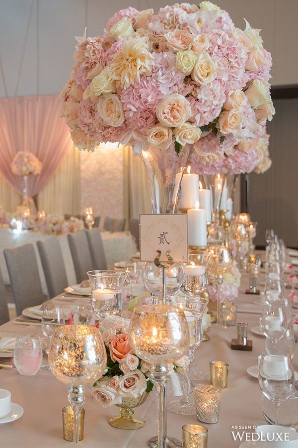 WedLuxe– A Romantic, Floral-Filled Wedding with Gilded Accents | Photography By: SoWedding Photo and Cinema Productions. Follow @WedLuxe for more wedding inspiration!