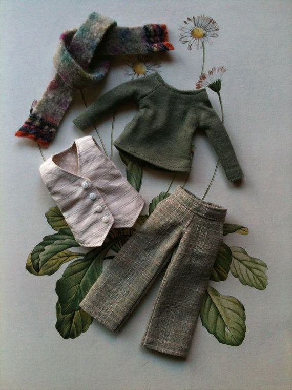 Waistcoat outfit set for Blythe