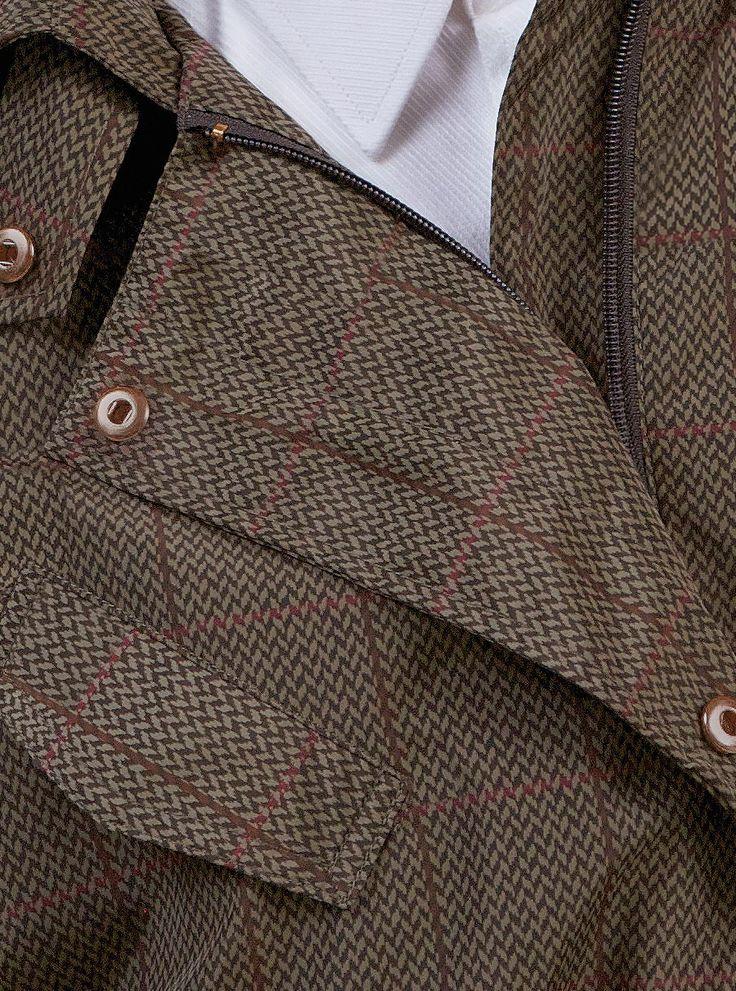 WATERDICHT Amsterdam  Straincoat Classic, stylish raincoat  Outer fabric: 100% PE / membrane 100% PU