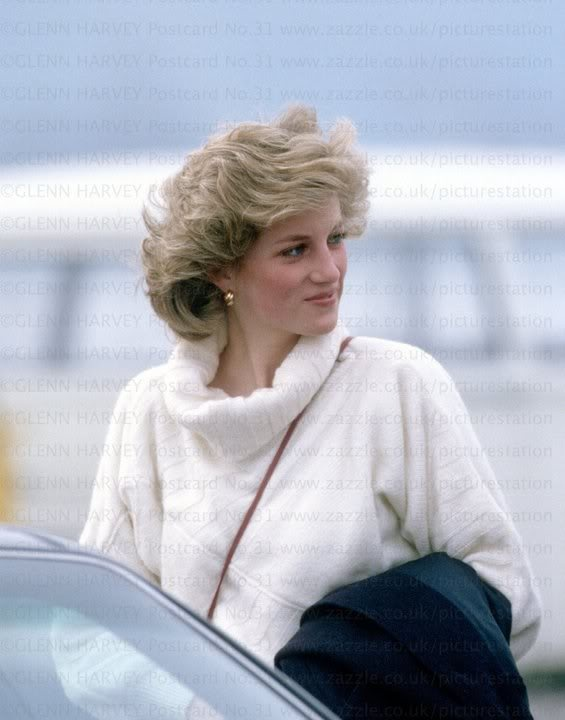Diana out and about