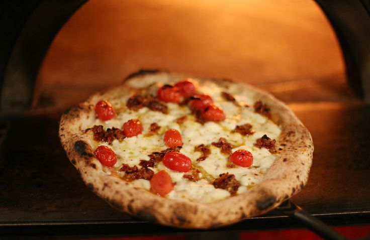 """The Delia Pizza / Cane Rosso, Dallas TX /  Diners Drive-Ins and Dives, """"Big Time Flavor"""", Food Network / Note: Also try Pasta Amatriciana"""