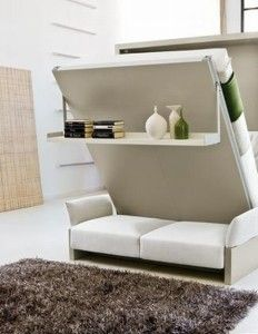 foldable bed hidden small space solution kokopelia tiny bedroom