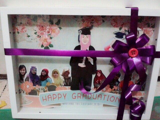 Graduation my friend. Pop up frame to my friend