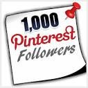 Thank you for 1000 Pinterest followers. We will launch our first site soon!!! #elitestuff