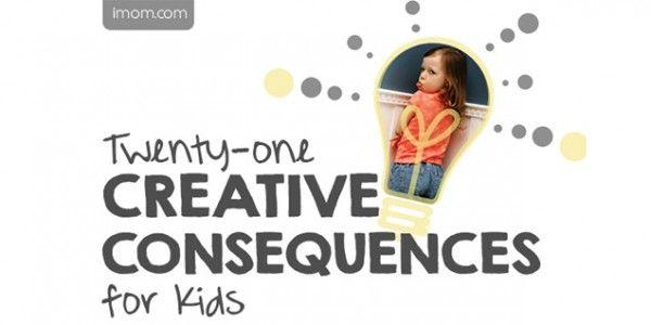 21 Creative Consequences - iMom