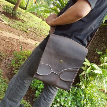 Kulit Asli Crazy Horse Shoulder Bag 013