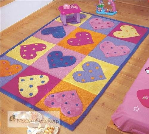 Wonderful Kiddy Rug With Special Design