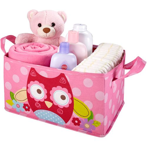 Garanimals Collapsible Storage Tote, Owl: Toddler : Walmart.com