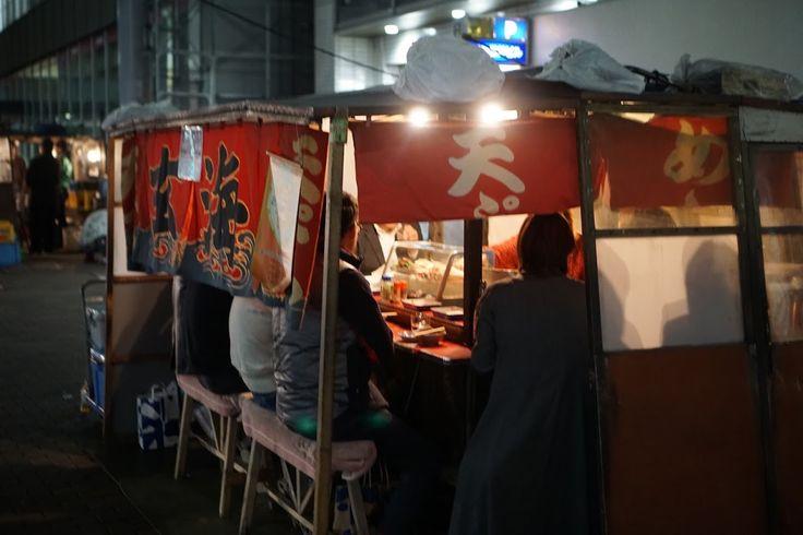 福岡といえば!!夜の「中洲と屋台(Food stalls)」の風景 − 福岡旅行 : HAPPY TRAVELER