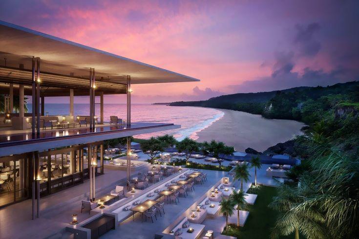 Dominik Cumhuriyeti'ndeki Playa Grande sahiline bakan Amanera Hotel