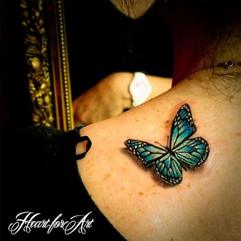 25 great ideas about realistic butterfly tattoo on pinterest. Black Bedroom Furniture Sets. Home Design Ideas