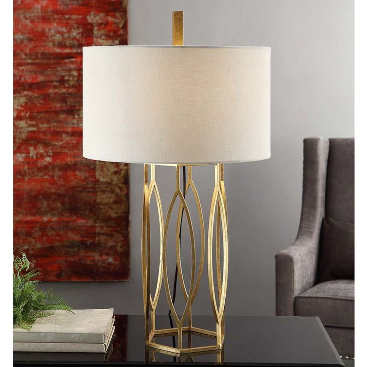 "Miles 32"" Table Lamp - again- more modern and transitional accessories to up her style game"