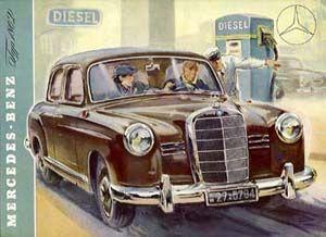 Mercedes Benz typ 180D