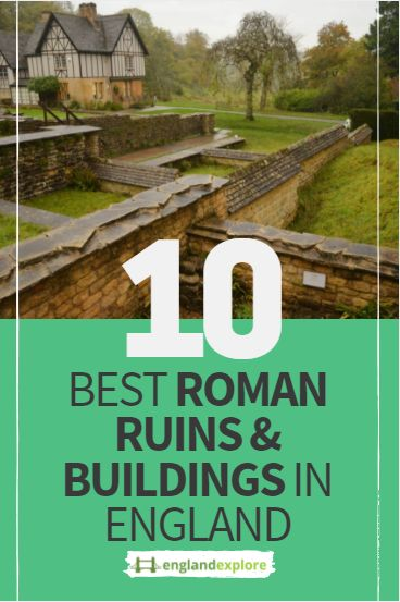 There is rich Roman history embedded in the countryside of Great Britain. It is amazing to see how the people lived their daily lives. You can get a glimpse into the past by visiting these beautiful ancient Roman ruins.