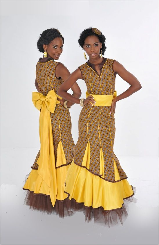 Beautiful Dress by Thabo Makhetha via seshoeshoe.com