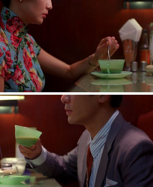 Maggie Cheung and Tony Leung in In the mood for love (Wong Kar Wai, 2000)
