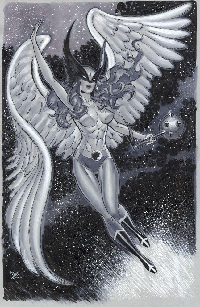 Big Hawkgirl NYCC 2014 by MichaelDooney on deviantART