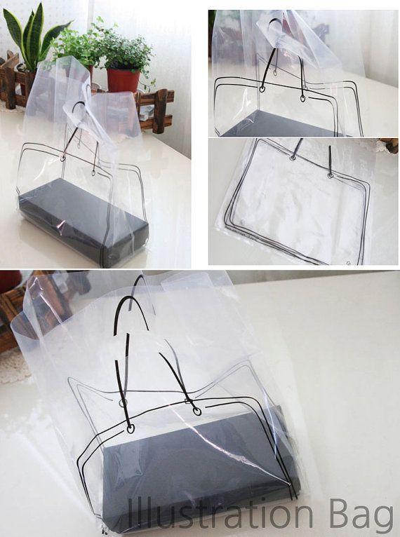Illust Transparent Plastic Bag