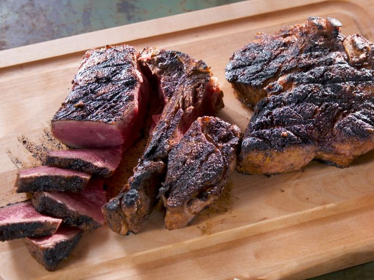 Perfect Porterhouse Steak with Herb Butter recipe from Nancy Fuller via Food Network