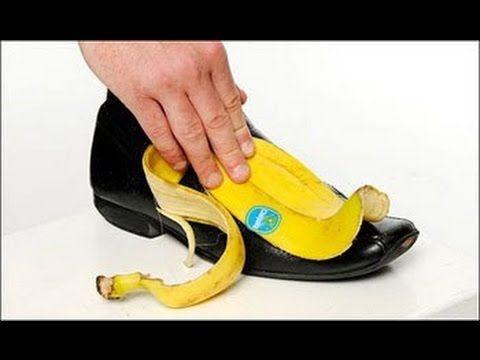 Engraxar Sapato com Casca de Banana - YouTube