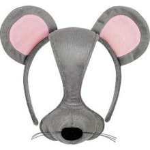 Girl mouse - I love this because its quicker instead of having full on face makeup. so face masks can be used with less makeup