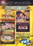 7 Pistoleros/Drogadictos Quemando Chiva [DVD]
