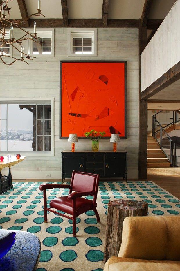 Casa em Aspen com estilo neutro e industrial/ Aspen house with neutral and industrial style