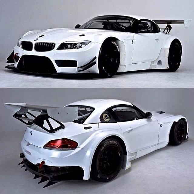 GT Track Car - the New BMW Z4 model.