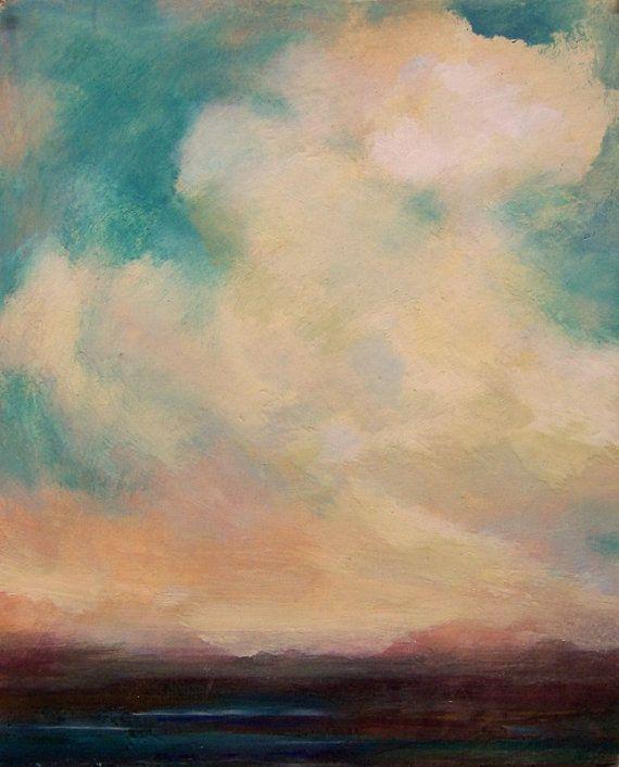 sweet little oil painting