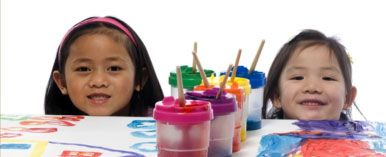 """kids painting