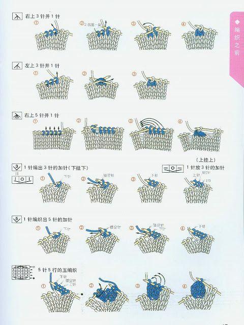 213 mejores imágenes de knit patterns en Pinterest | Patrones de ...