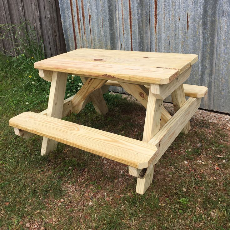 Small Wooden Picnic Table - Home Office Furniture Collections Check more at http://www.nikkitsfun.com/small-wooden-picnic-table/