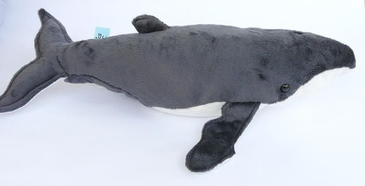 Humpback Whale Soft Toy with actual sound