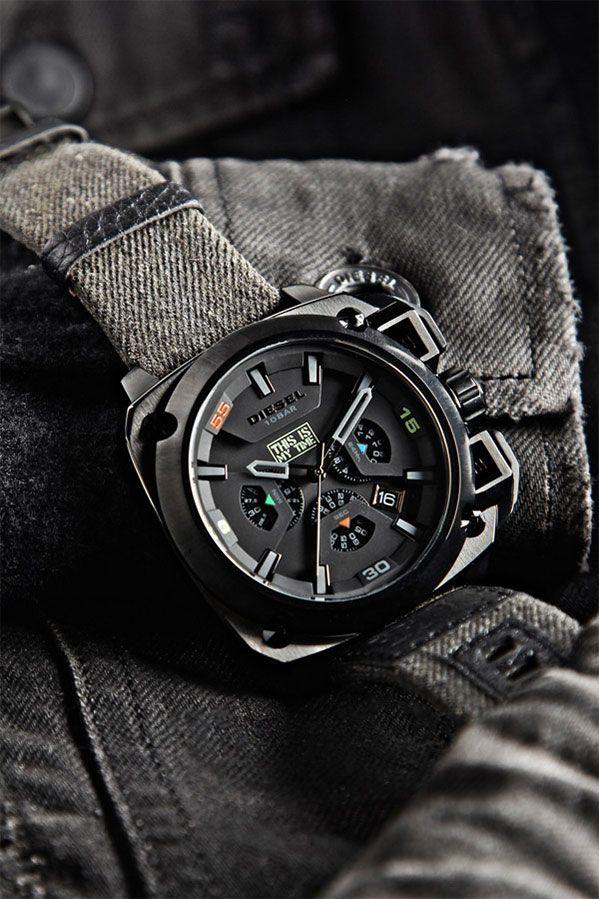 Relógio Diesel de edição limitada – 60º aniversário Renzo Rosso