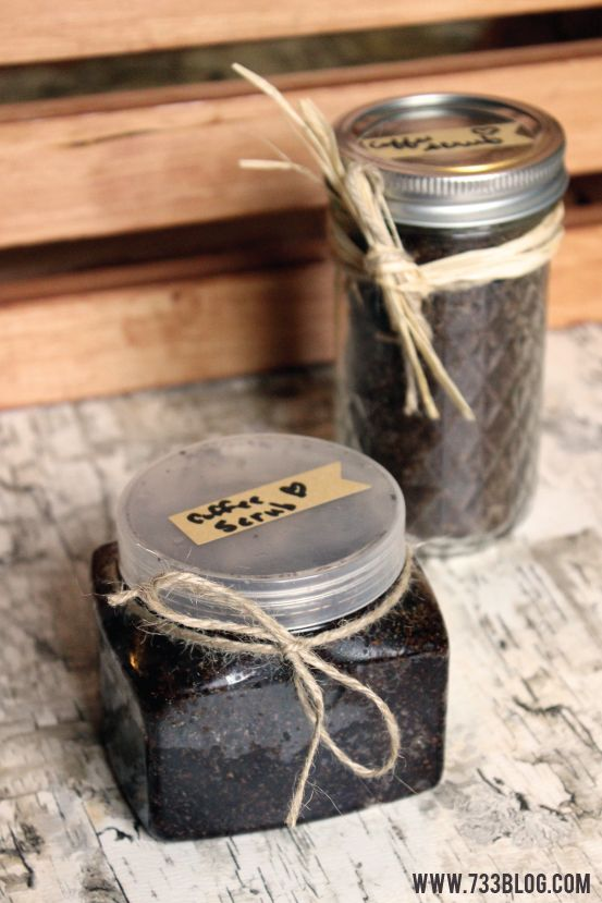 Organic Coffee Scrub - Only 3 household ingredients needed!