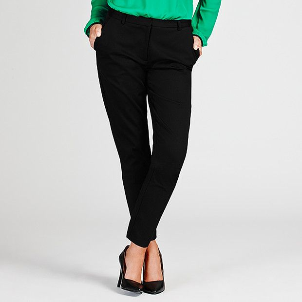 Dannii Minogue Petites Black Sateen 7/8 Pants petites - these good worth trying on $59 sizes 4- 16